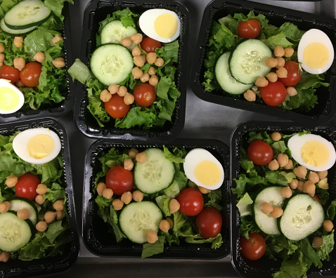 Crisp Side Salads