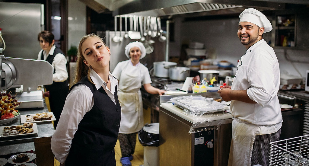 Managing the kitchen staff and servers is just one of the many responsibilities of a restaurant operator and manager