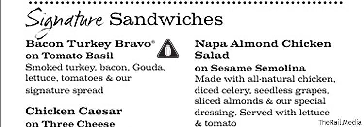CSPI points to Panera Bread's Bacon Turkey Bravo on Tomato Basil bread with 2,920 mg of sodium