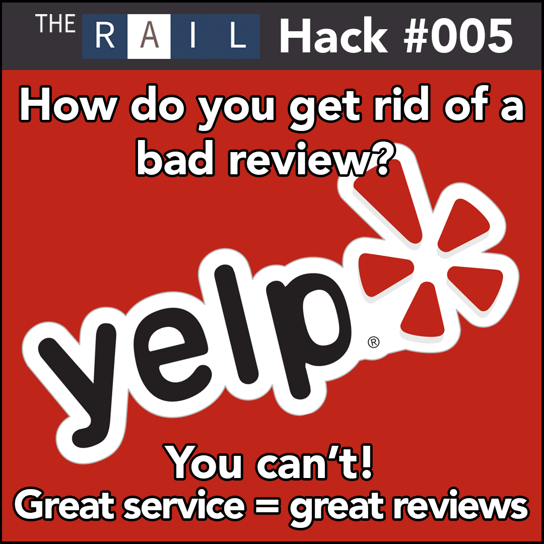 Restaurant Hack #005 - How do you get rid of a bad Yelp review?