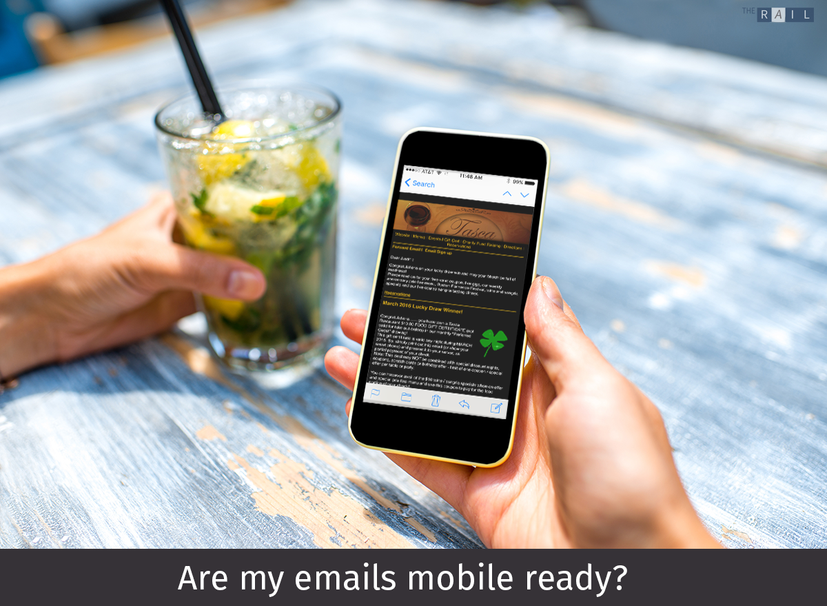 Are my restaurant's emails mobile ready?