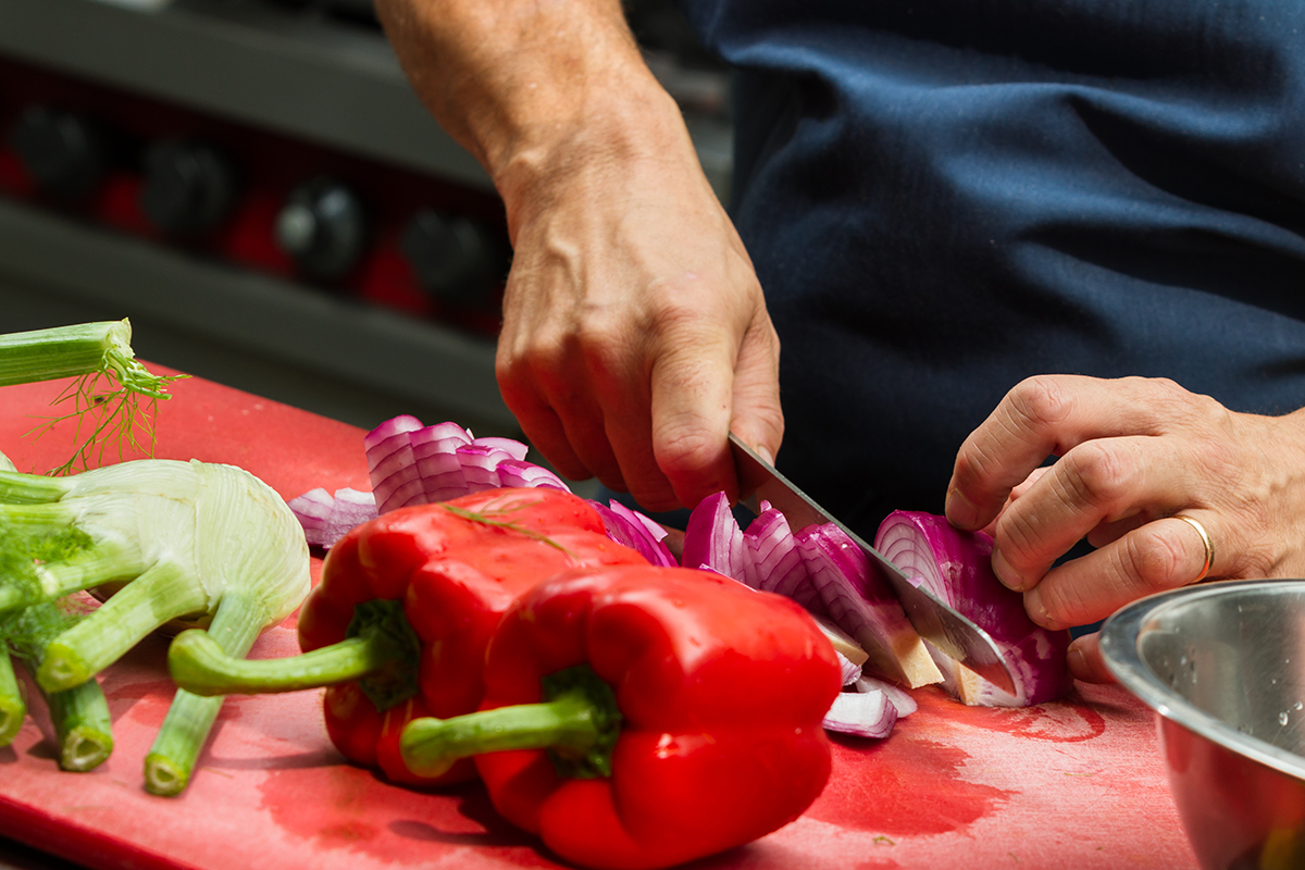 Is it better to prep food with gloves or bare hands, restaurant workers wonder.