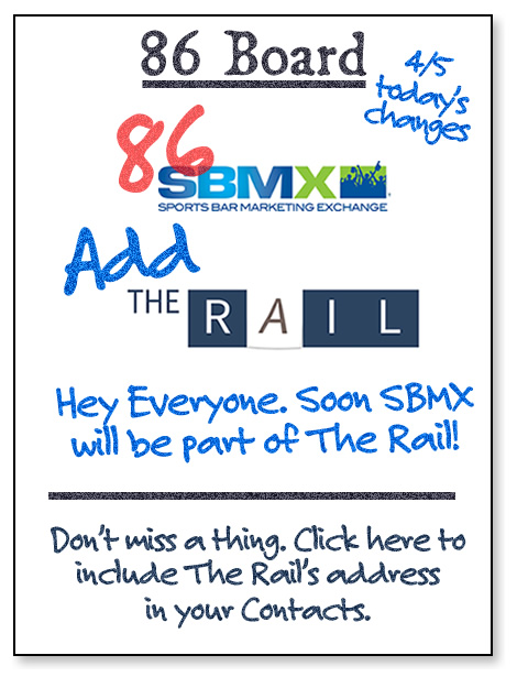 SBMX and #restaurants are turning into The Daily Rail starting next week!