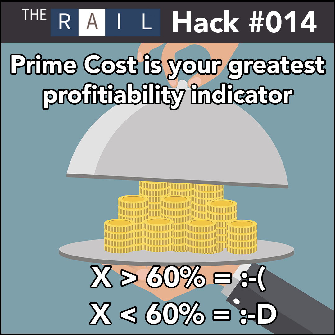Restaurant Inventory Tip: Calculating your Prime Cost profitiability indicator.