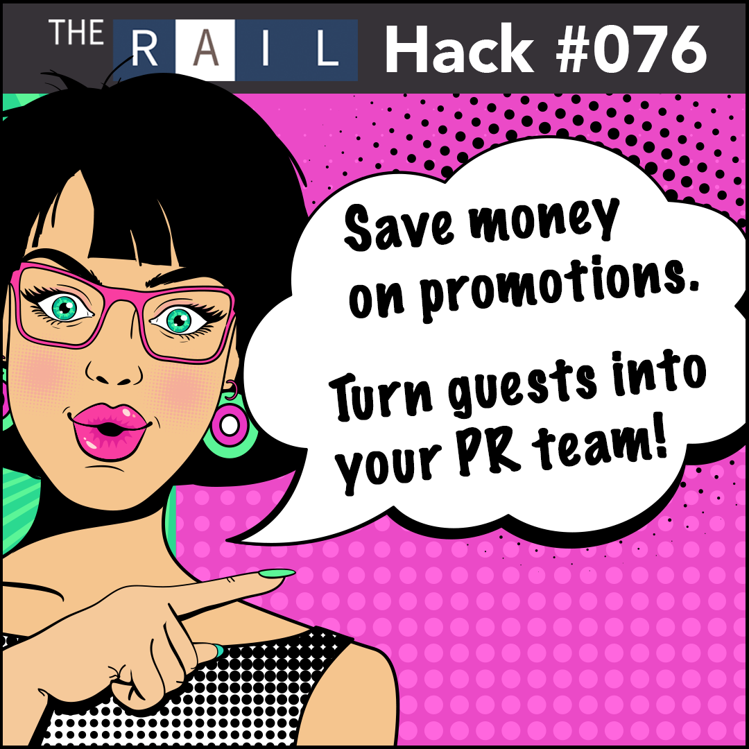Restaurant marketing tip: Turn your best customers into your PR team!
