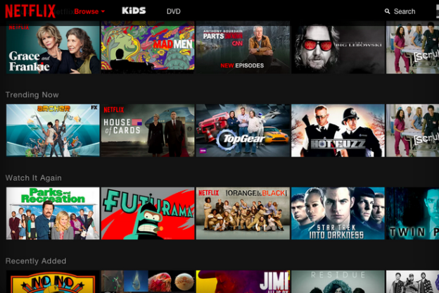 Netflix uses Big Data to create individualized home-screen for each and every customer.