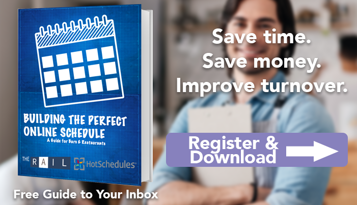 Building the perfect online restaurant schedule is great for saving time, money and lowering employee turnover.