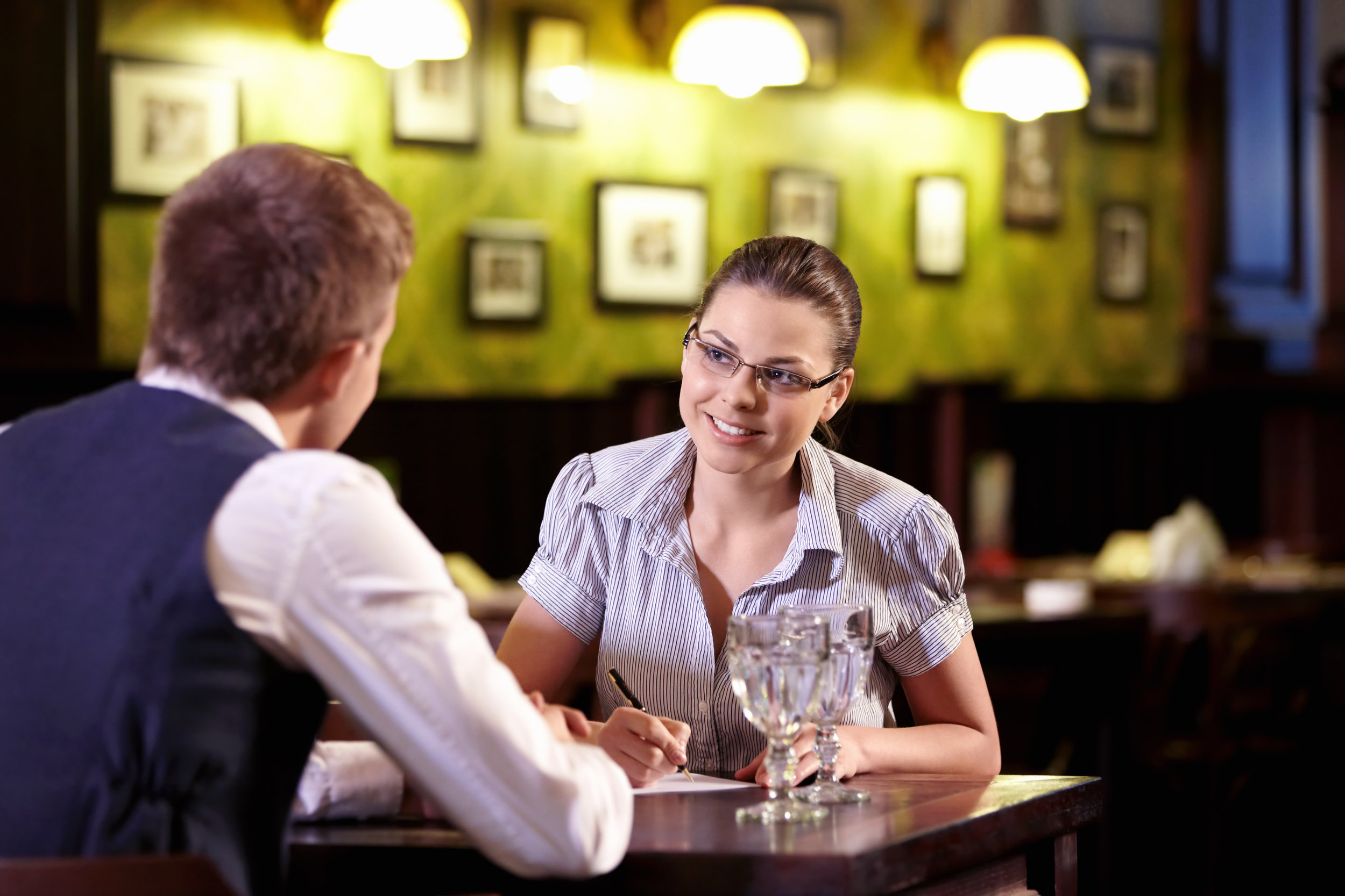 Boost restaurant sales by hiring great sales people.