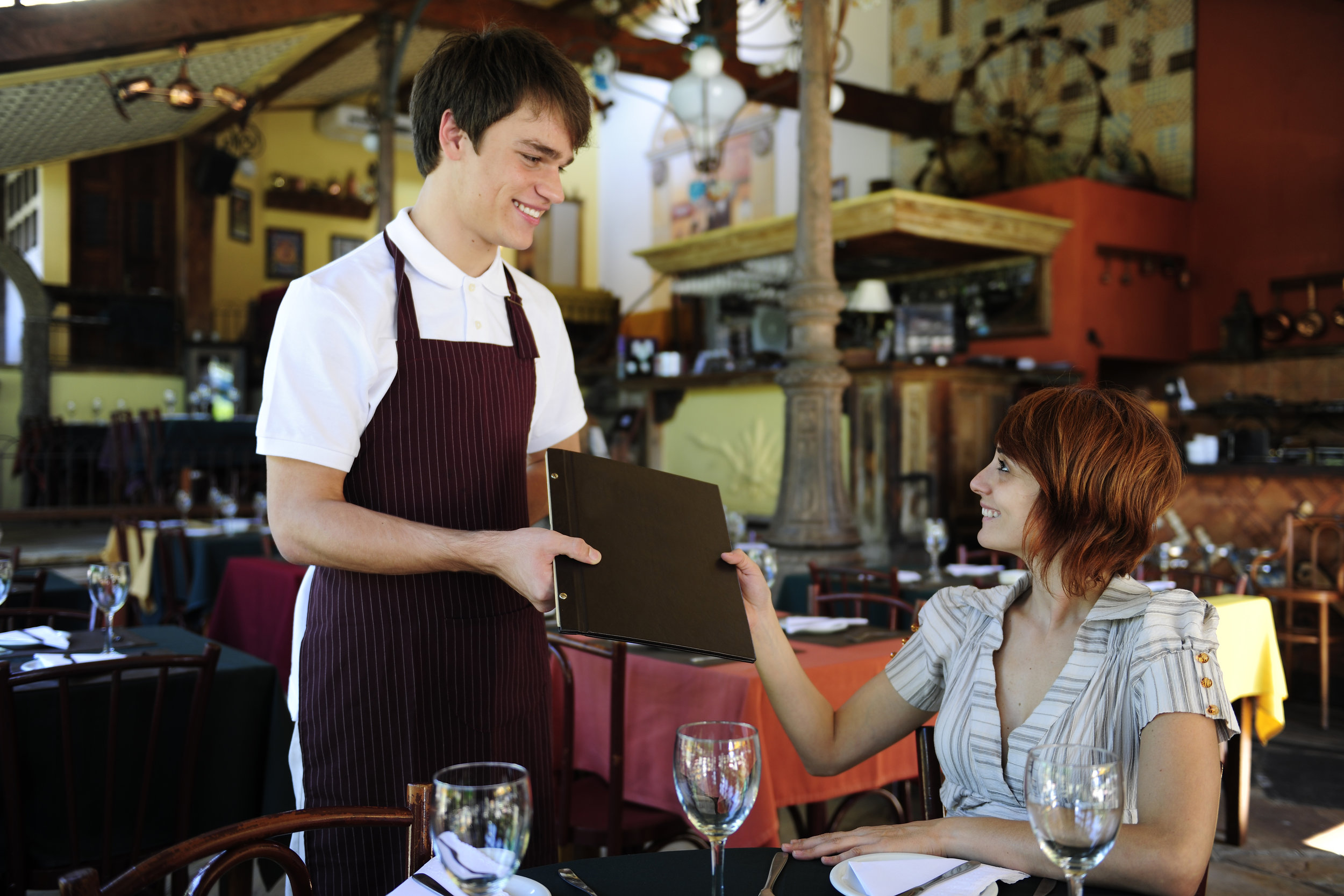 Boost your restaurant's sales with some role playing.