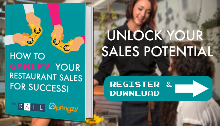 Unlock your restaurant's sales potential by gamifying the sales process and turn your restaurant's servers into sellers.