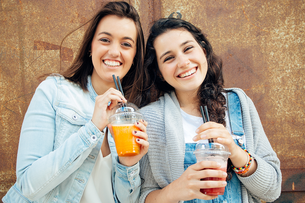 frozen drinks for teenagers & smoothies can boost restaurant profits