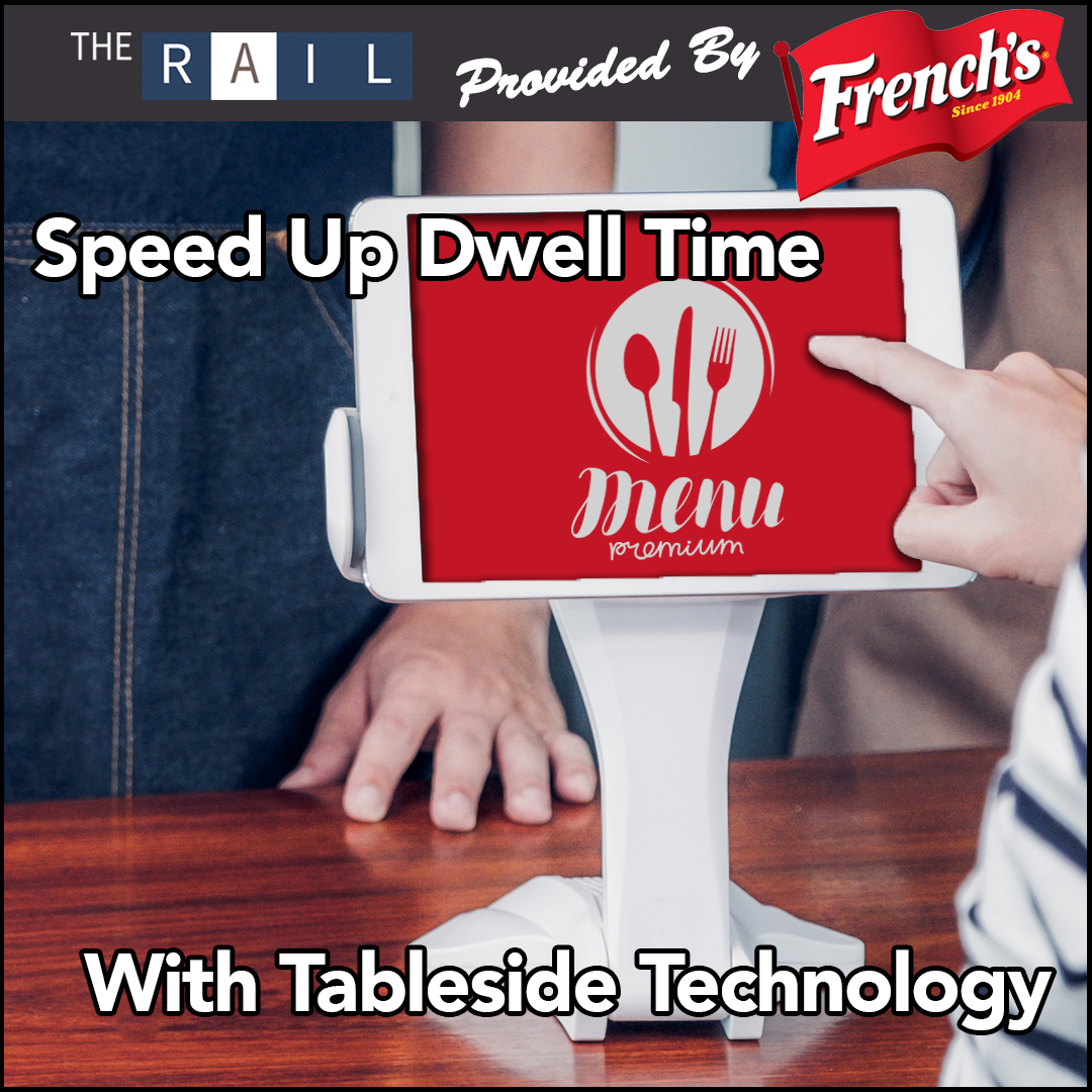 Improve your restaurant's guest dwell time with tableside technology.