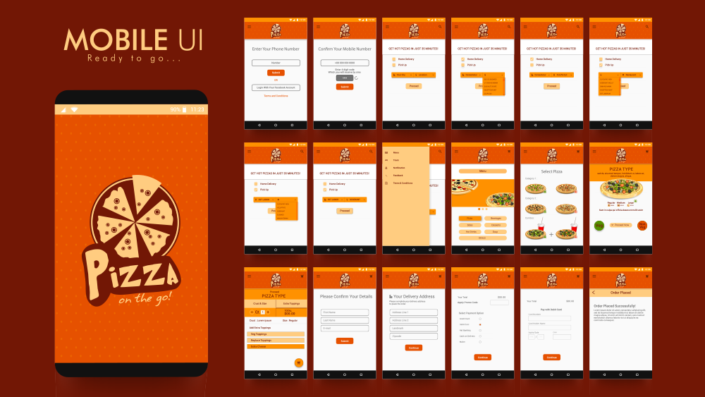 Choose a strong mobile UI for your restaurant's site