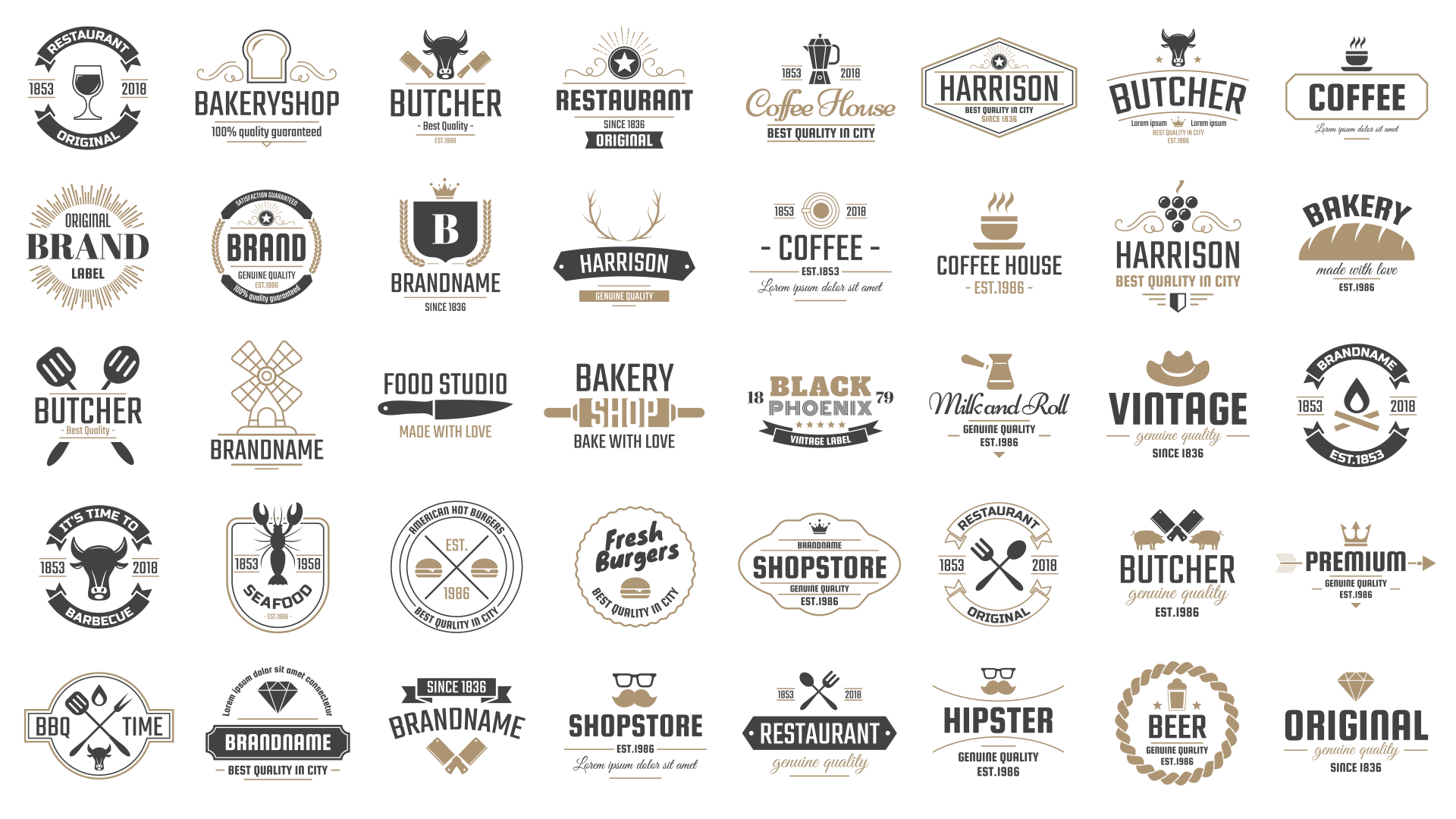 Make sure your restaurant's logo is easily found on your site