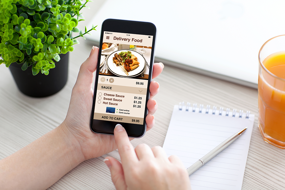 Restaurants should optimize their online delivery service menus.