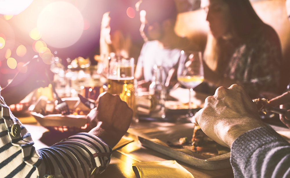 Inward-facing restaurant marketing includes loyalty programs.