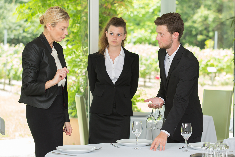 How to hire the best restaurant waitstaff.