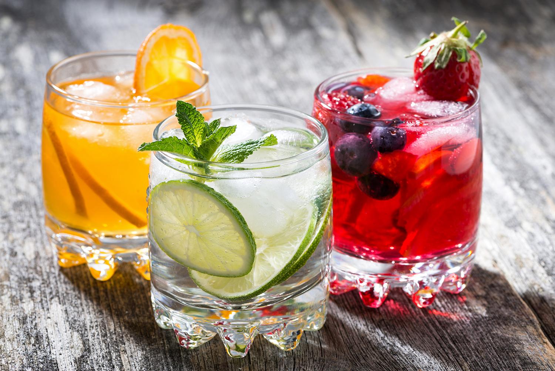 Frozen drinks go perfect with outdoor restaurant patios
