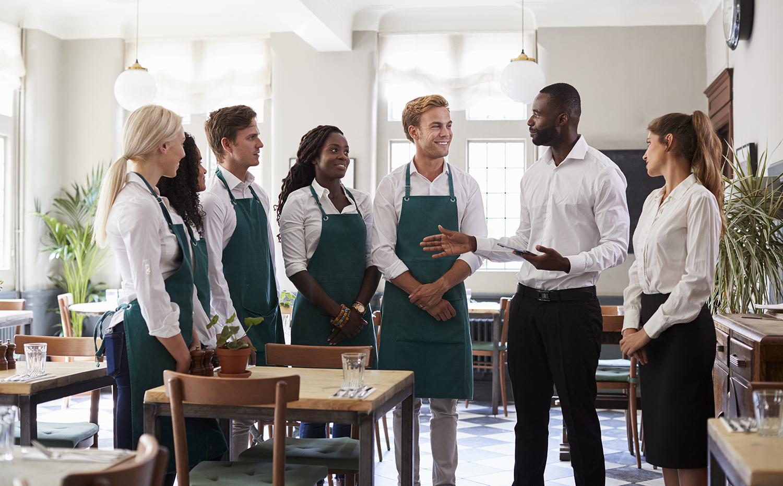 Restaurant team unity skills