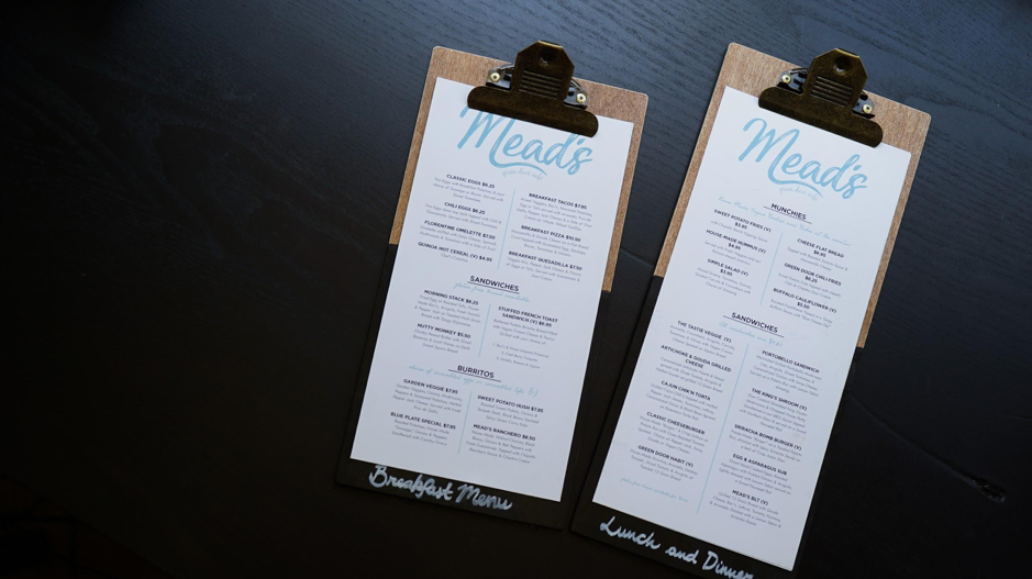Keep your restaurant menu item options limited.