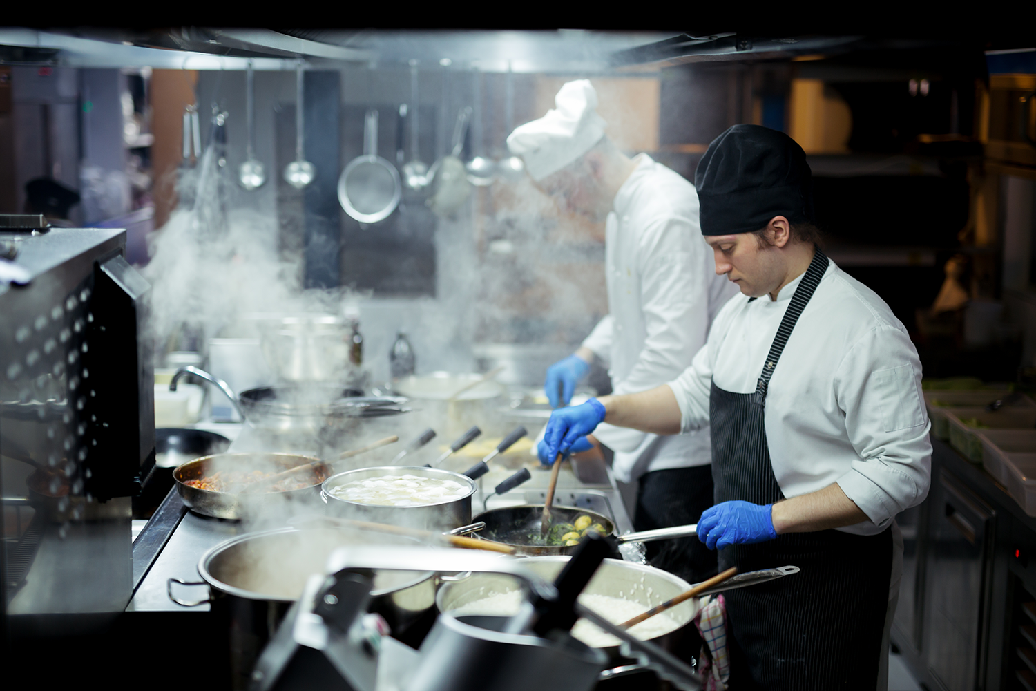 Restaurant managers can help their kitchen staff by making sure the guest flow management is in good order.
