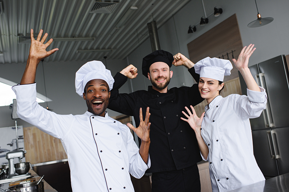 Appreciate your restaurant kitchen's line cooks.