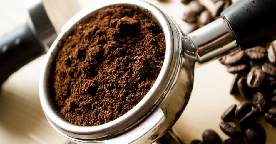 Coffee grounds are huge restaurant food waste.