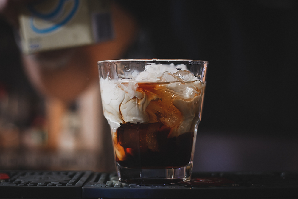 Horchaita White Russian cocktail recipe.