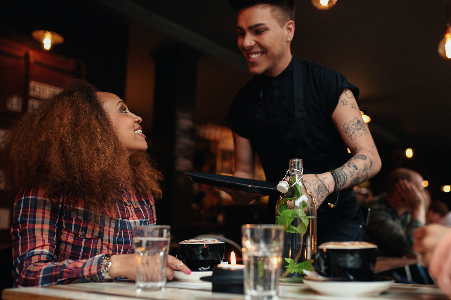 Tips for dealing with the language barrier between restaurant guests and staff.