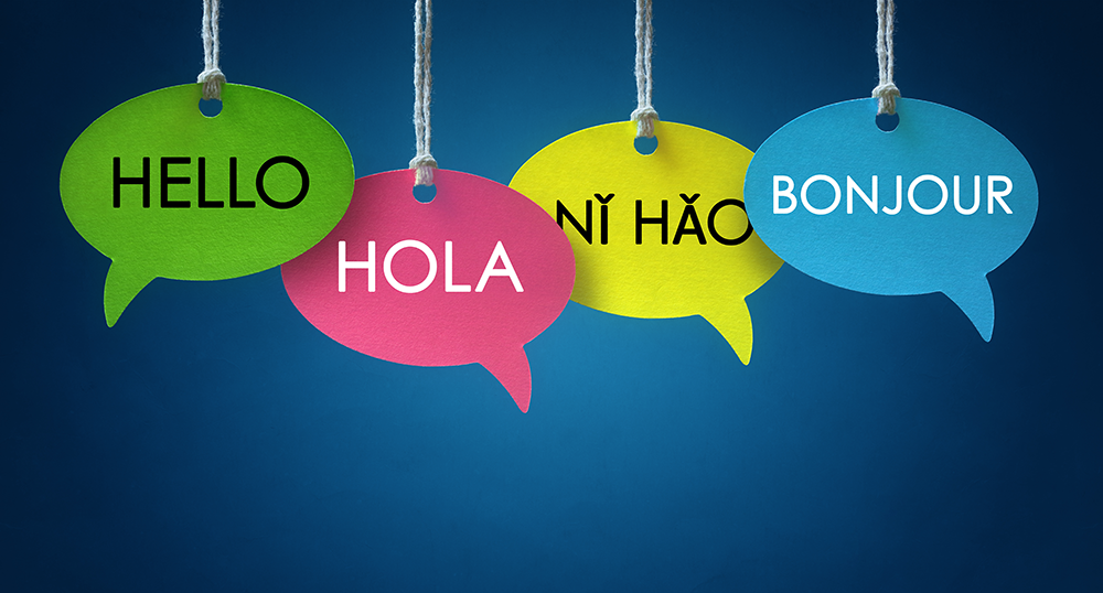 Restaurant foreign language training skills.