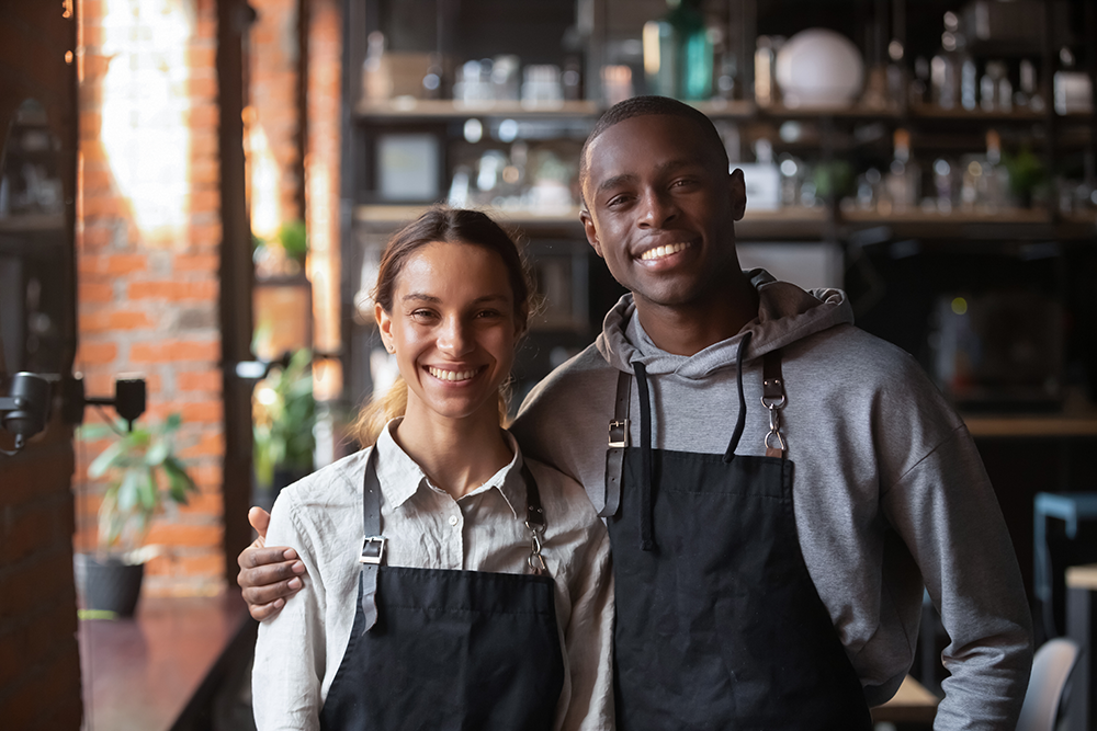 Make sure your restaurant's staff is trained in great customer service.