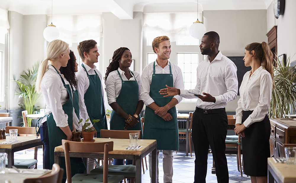 Recognize the accomplishments of your restaurant's team.
