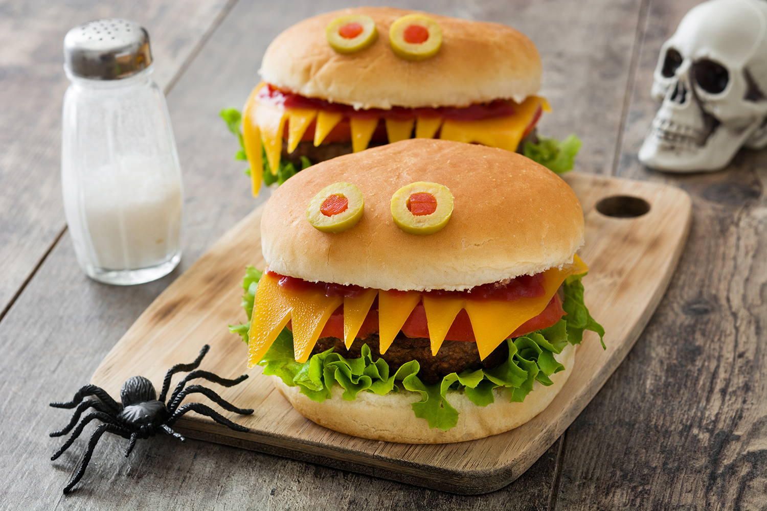 Come up with some fun restaurant Halloween menu items.