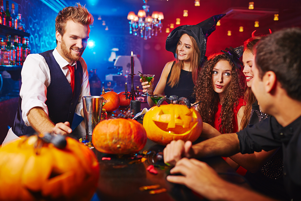 Don't forget to market your restaurant's Halloween events.