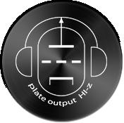 Plate Output HI-Z for Low Sensitivity Headphones