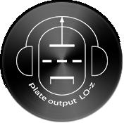 Plate Output LO-Z for Low Sensitivity Headphones