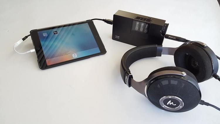 Woo Audio WA8 Eclipse in Black with Focal Utopia Headphones