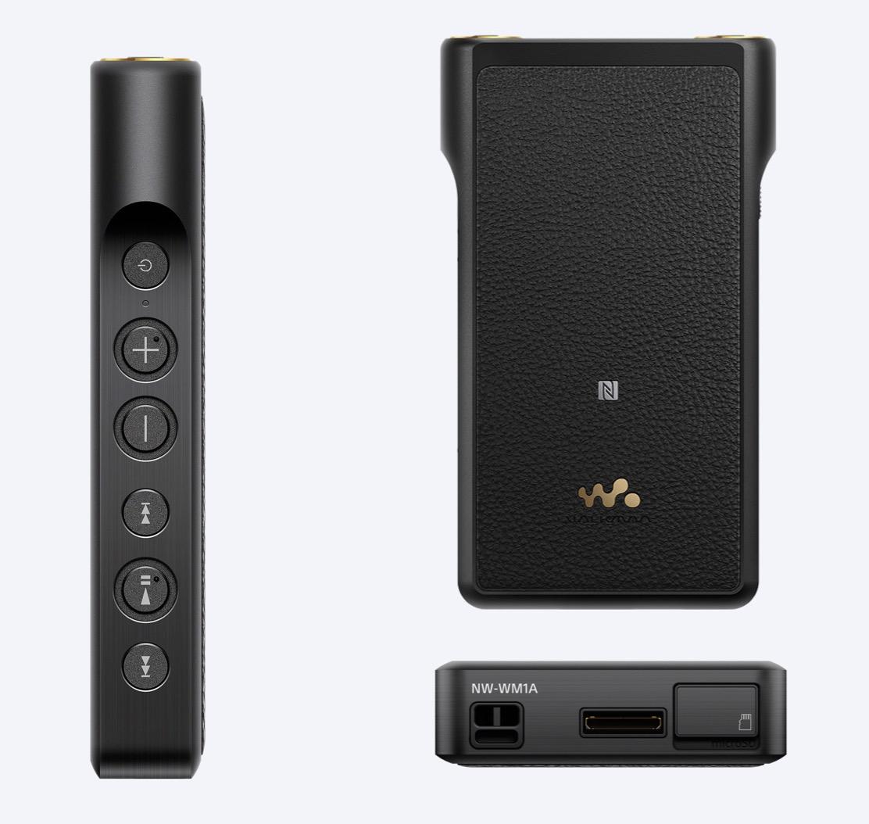 Sony-NWWM1A-walkman-black-audiophile-music-player-highend-flagship-headfi