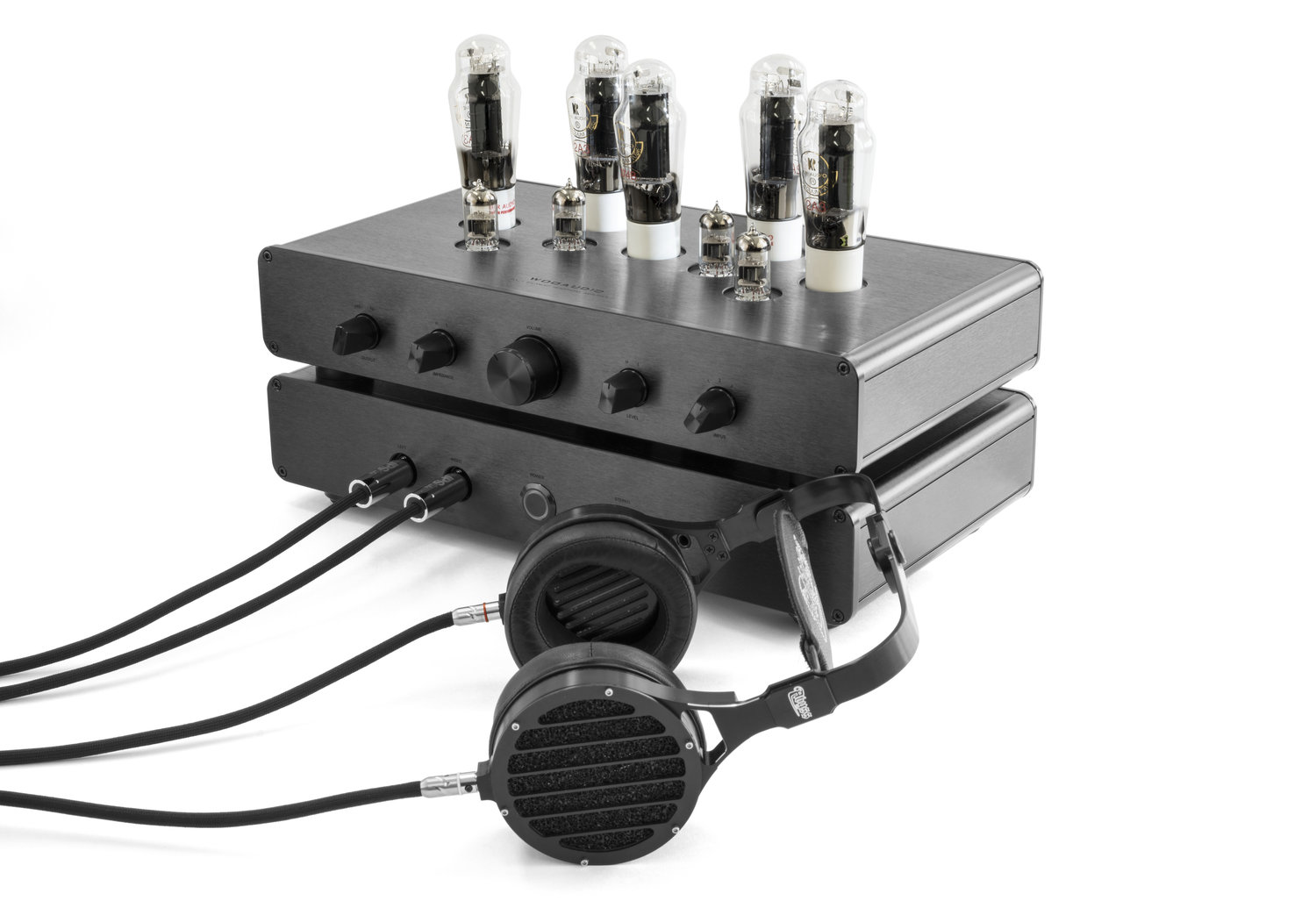 WA33 with upgrade tubes shown. Abyss AB-1266 headphones sold seperately.