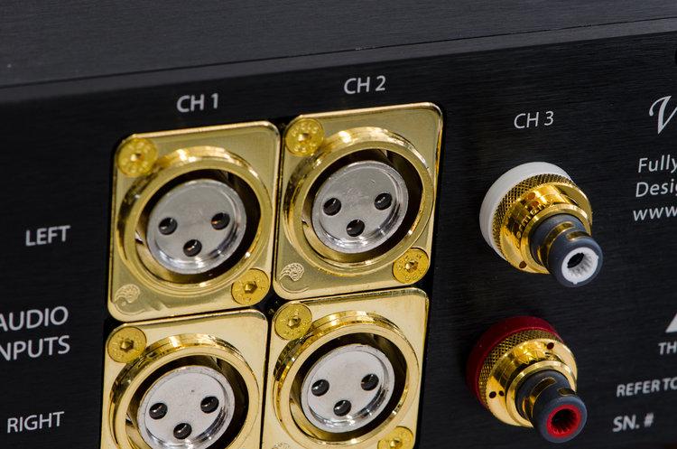 Cardas XLR and WBT RCA connectors