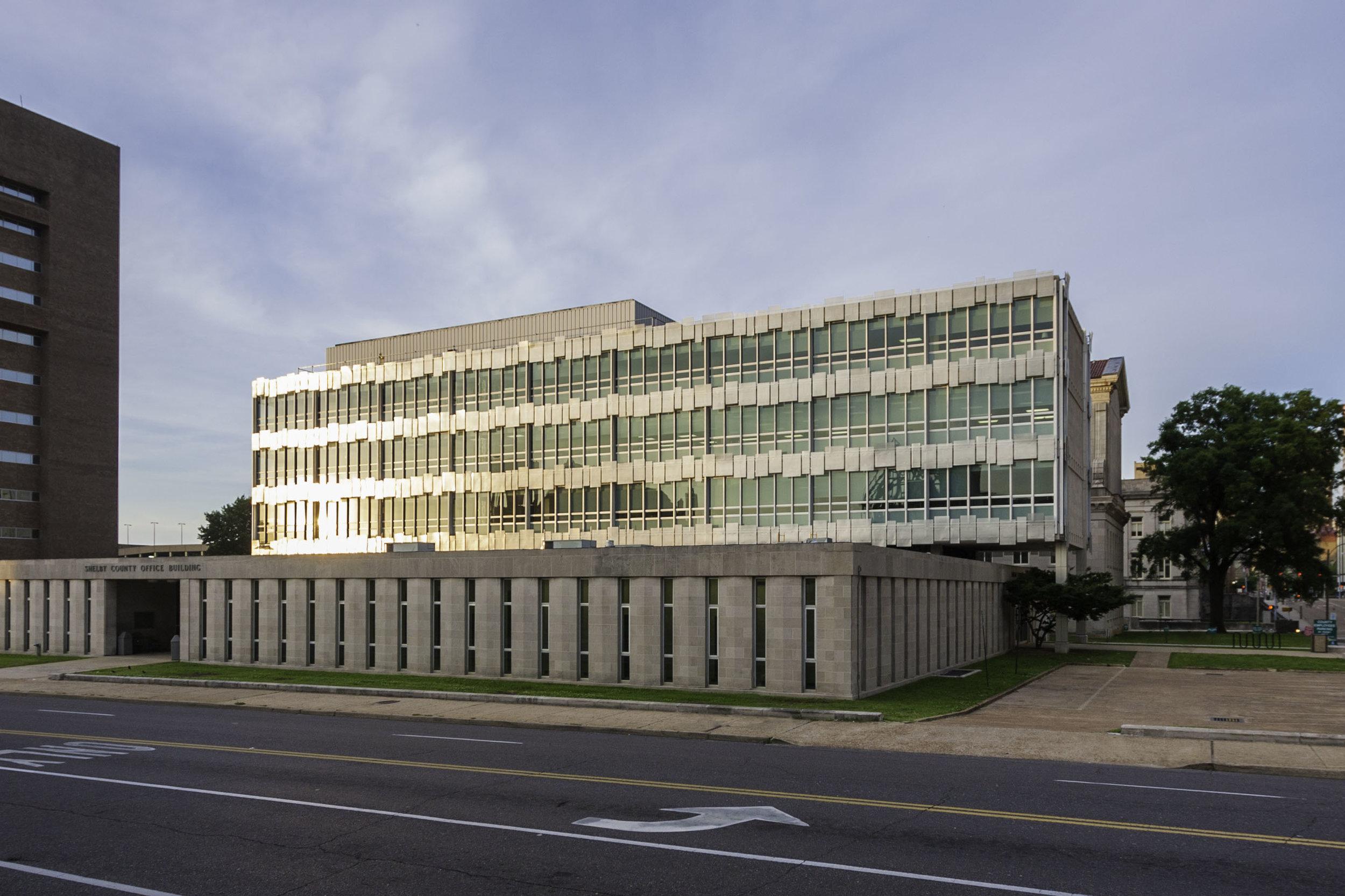 Shelby County Jury Building Facade Improvements