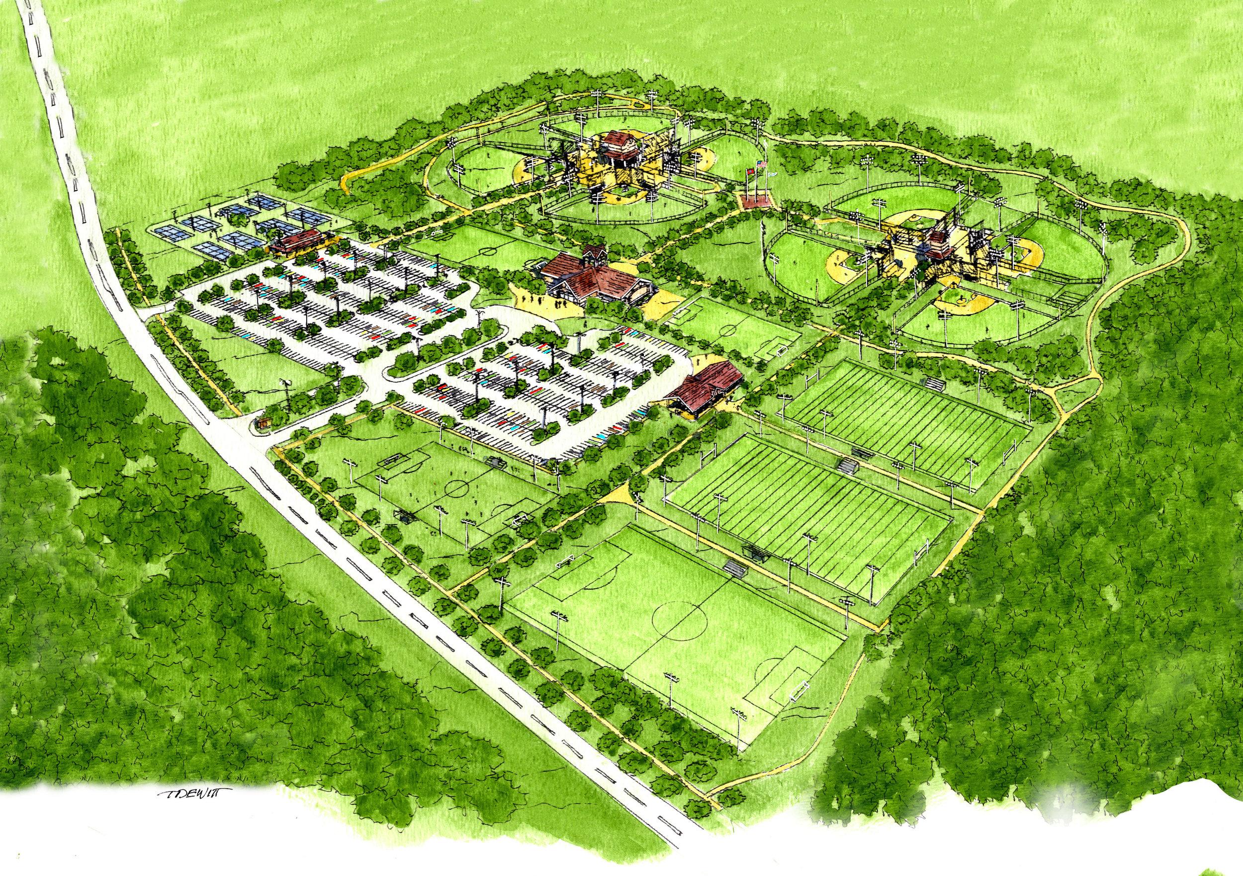 Savannah Sportsplex Master Plan