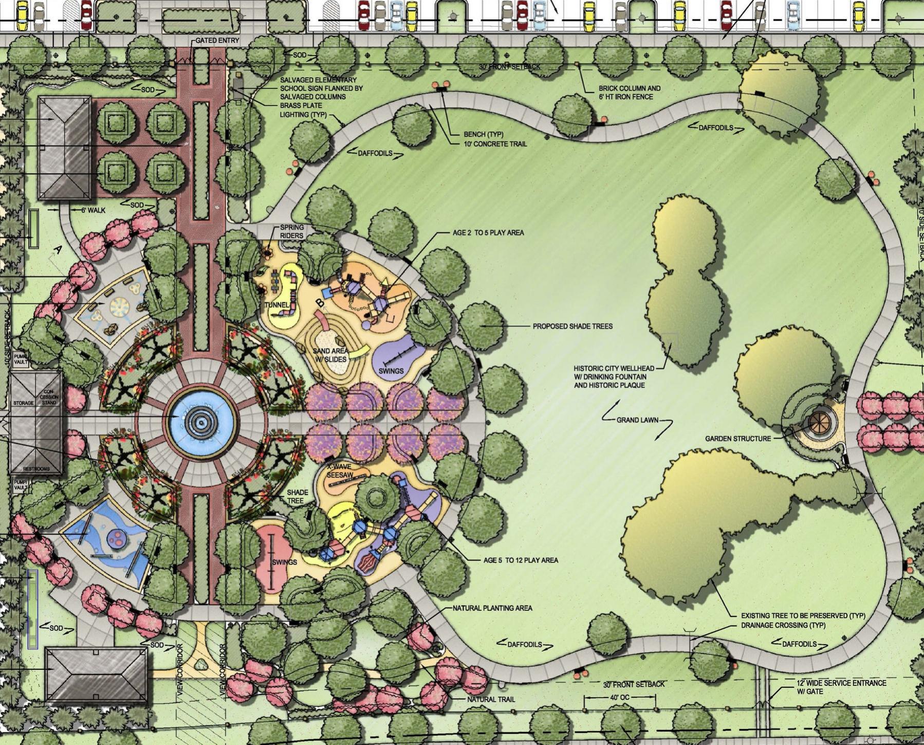 Tennessee Street Park Master Plan