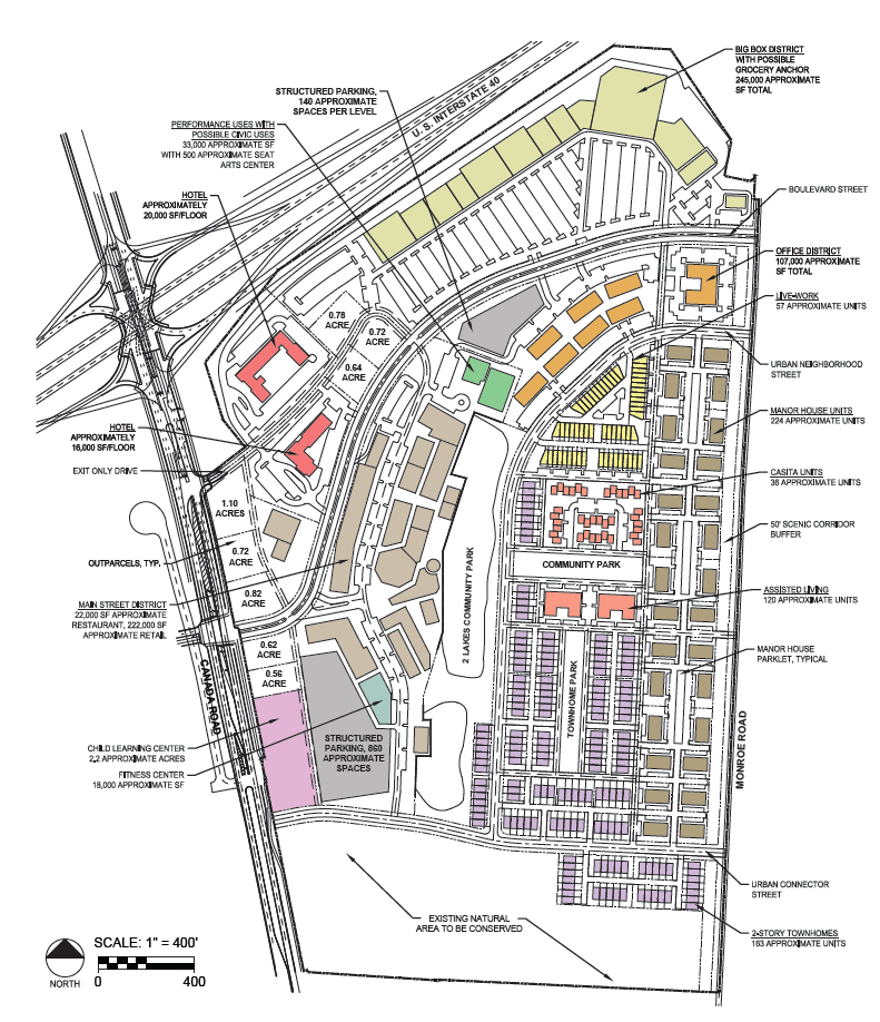 The Lake District Mixed-use Development