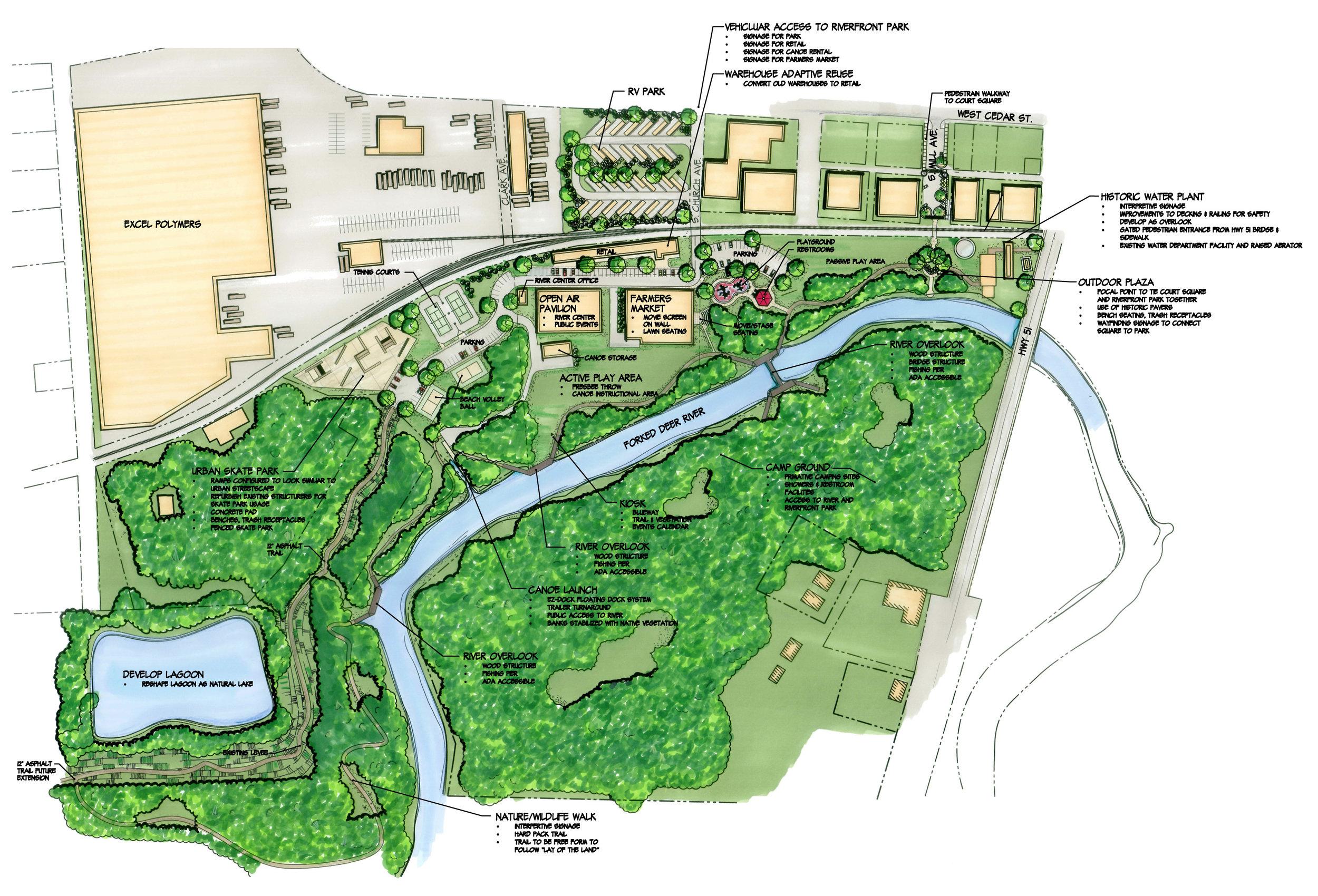 Dyersburg Riverfront Park Master Plan