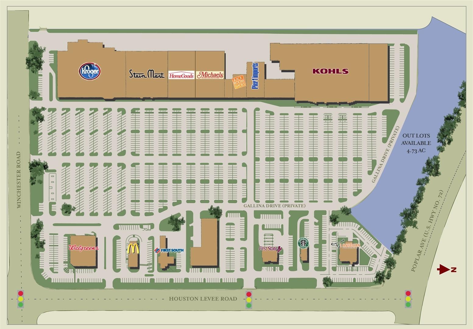 Gallina Centro Shopping Center Development Plan