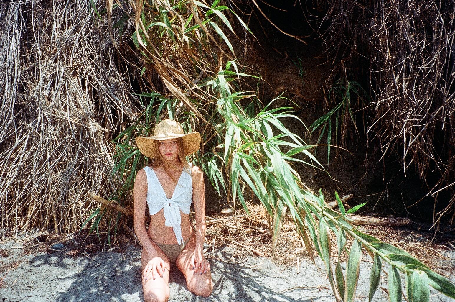 Sage Bikini &  Callalily Top