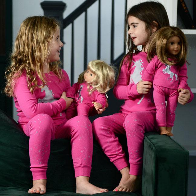 shop matching doll pajamas -