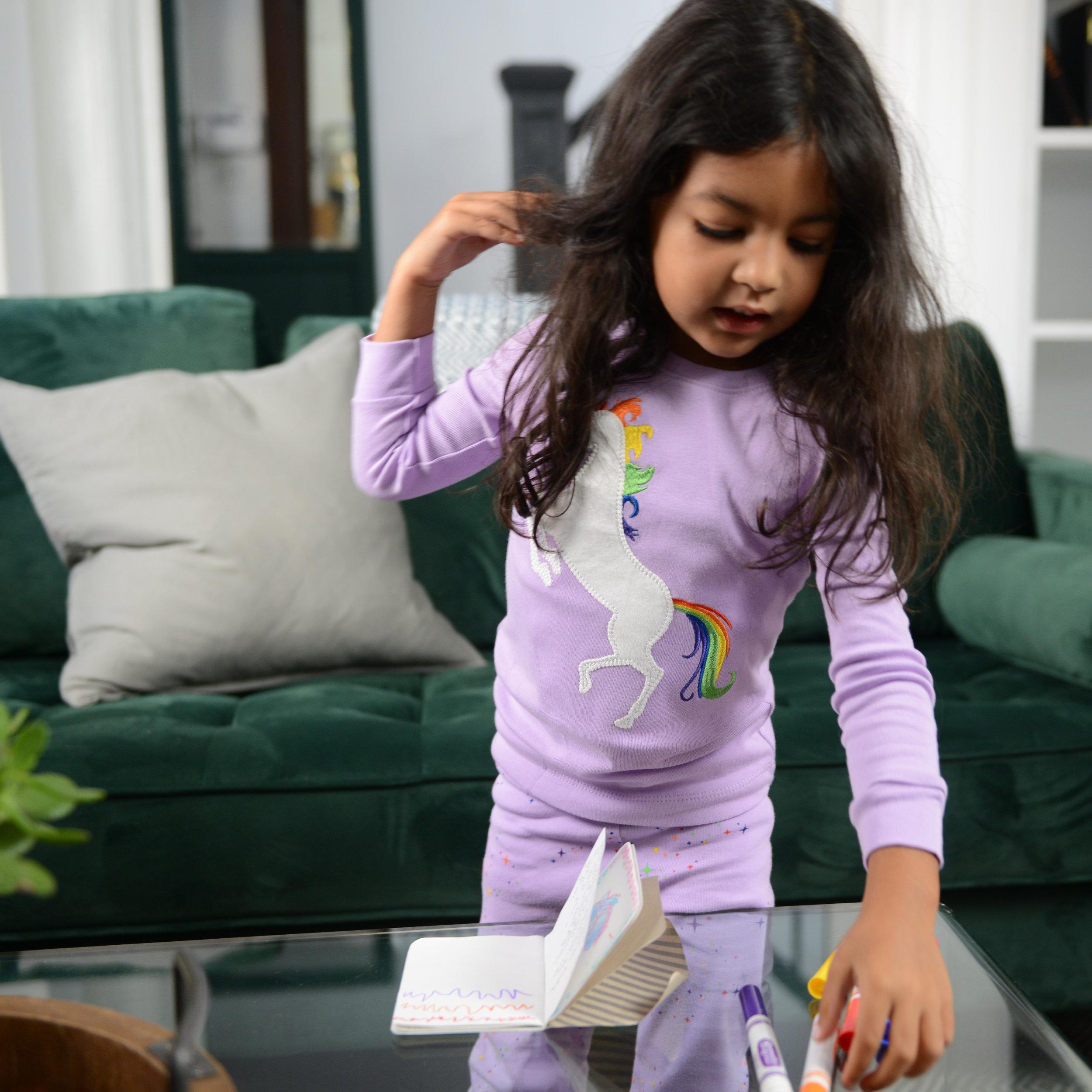 shop girls pajamas -