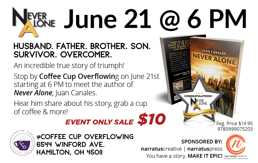 Book Signing fo Never Alone